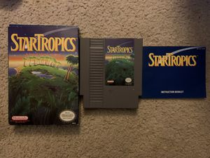 Nintendo-Star Tropics for Sale in Honolulu, HI