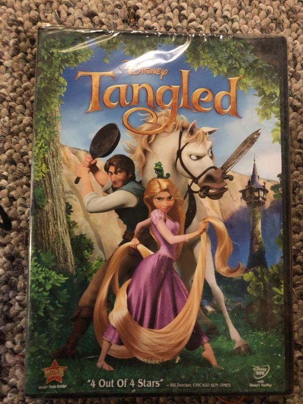 5- Disney's Tangled DVDs