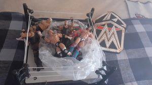 Wrestling toys and build for Sale in Salt Lake City, UT