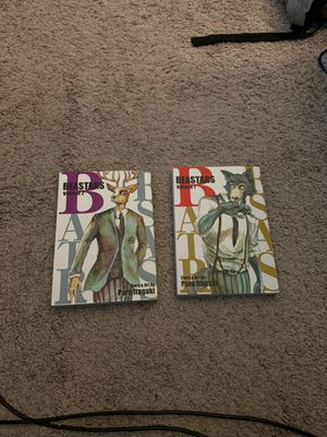 Beastars Manga Volumes 1&2 for Sale in Boynton Beach, FL