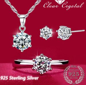 Women's Luxurious 3 pcs .925 Stirring Silver Jewelry St. Ring Size 8 New for Sale in Miami, FL