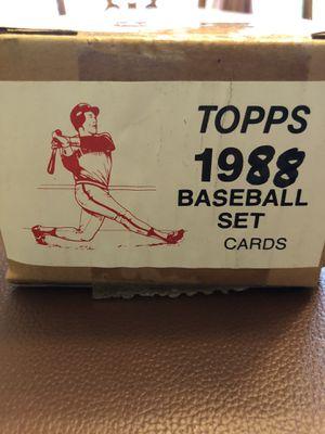 1988 Topps baseball card sets for Sale in Hillsboro, OR