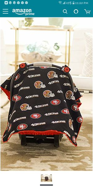 49ers baby car seat canopy for Sale in Rio Linda, CA