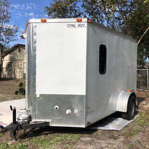 10x12 TRAILER CONVERTED INTO CAMPER for Sale in Orlando, FL