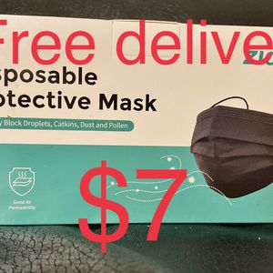 Black Disposable Face Masks for Sale in Anaheim, CA