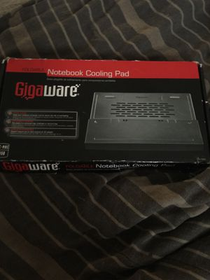 Giga ware foldable notebook cooling pad for Sale in Eastpointe, MI