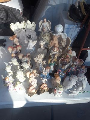 Collection of 38 angel statues/figurines for Sale in Las Vegas, NV