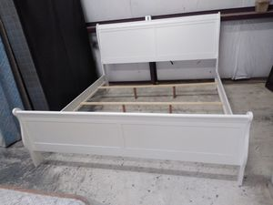 New white Cali king bed frame for Sale in El Paso, TX