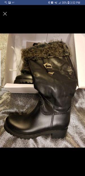 Black snow/rain boots for Sale in Anchorage, AK