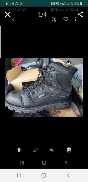 New steel toe work boots for Sale in West Palm Beach, FL