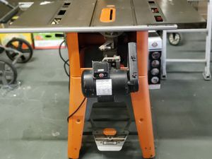 "Ridgid 10"" table saw for Sale in Bakersfield, CA"