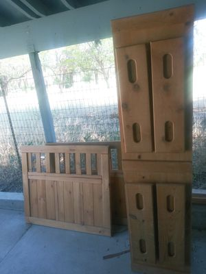 Twin Oak Captains Bed 4 drawers for Sale in Wenatchee, WA