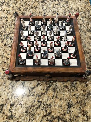 Chess set- Nautical Themed chess set excellent condition for Sale in Gainesville, GA