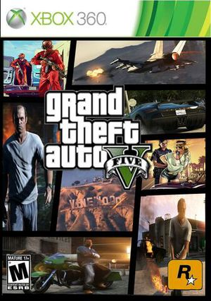 Grand Theft Auto V for XBOX 360 for Sale in Chicago, IL