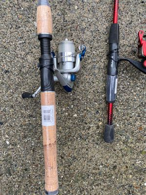 Fishing rods good condition for Sale in Poulsbo, WA