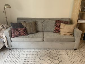 West Elm Henry Sofa - Grey - Performance Fabric for Sale in Seattle, WA