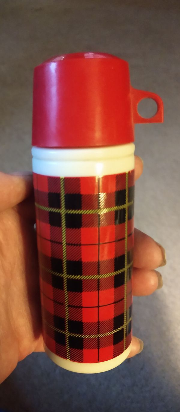Avon thermos aftershave bottle