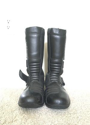 Blitz Men's Size 9 Winter Waterproof Motorcycle Riding Boots for Sale in Springfield, VA