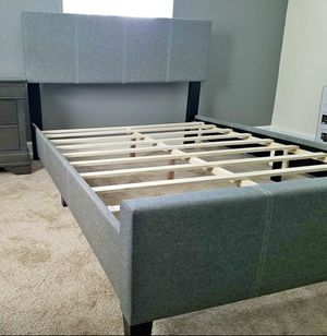 Grey Queen Bed for Sale in Washington, DC