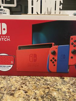 Brand New SEALED Nintendo Switch Console Mario Red & Blue Edition for Sale in Seattle,  WA