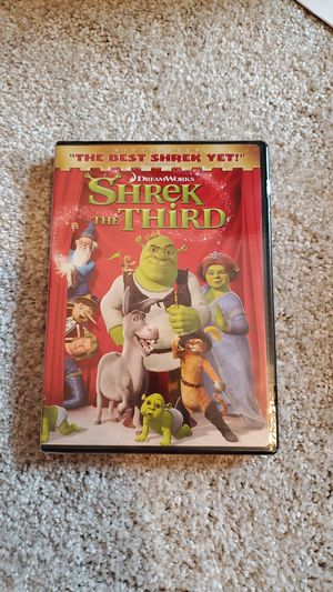 Shrek the 3rd dvd for Sale in Tualatin, OR