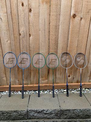 Badminton rackets 6 for Sale in Lynnwood, WA