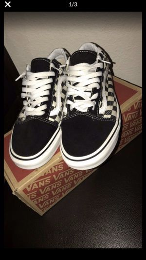 Vans checkered board size 8.5 for Sale in Fairfield, CA