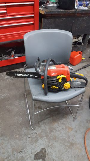 Homelite 14 inch 35cc chainsaw for Sale in Baltimore, MD