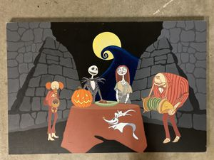 A Nightmare Before Christmas Art Canvas for Sale in Santa Ana, CA