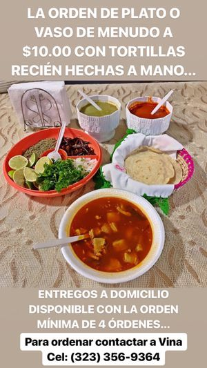 Menudo for Sale in Gardena, CA