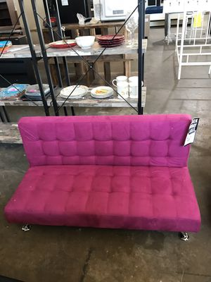 Pink Kid Size Futon ‼️Black Friday Sale‼️ for Sale in Dallas, TX