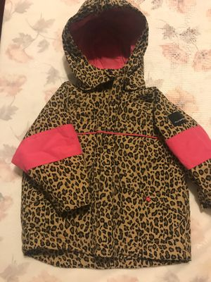 Thermal leopard jacket from The Children's Place for Sale in Ontario, CA