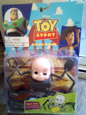 Vintage Toy Story Action Figure Babyface /light damage on bottom of box for Sale in Las Vegas, NV