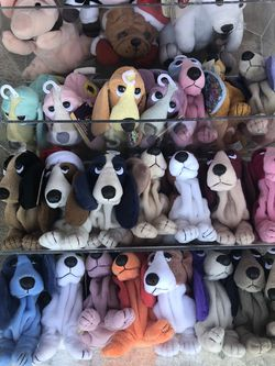 beanie babies/hush puppies for Sale in Nuevo,  CA