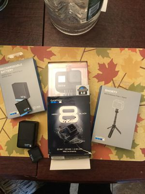 GoPro hero 8 (like new) with accessories for Sale in Queens, NY