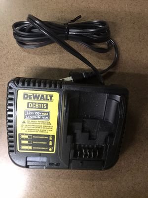 Dewalt 20V Max Lithium Ion Brand New Charger (Never Been Used)! for Sale in Suisun City, CA