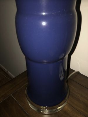 Blue Ceramic Table Lamp for Sale in Washington, DC