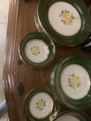 China plates antique for Sale in Tucson, AZ