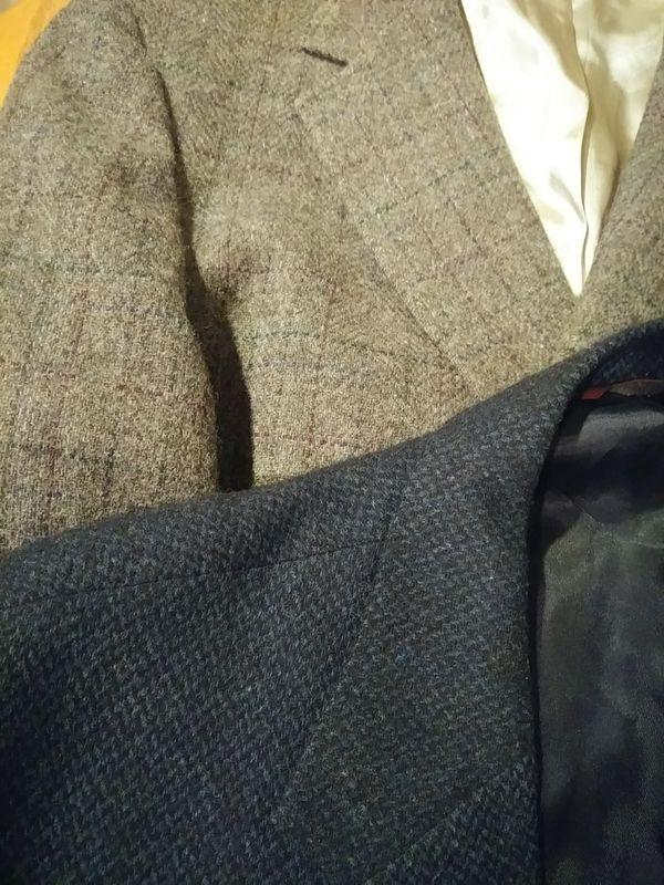 Wool women's coat, 2 suit jackets & skirt