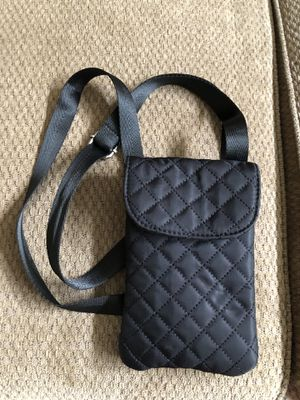 Chico's Quilted Shoulder Bag - Black for Sale in Brunswick, OH