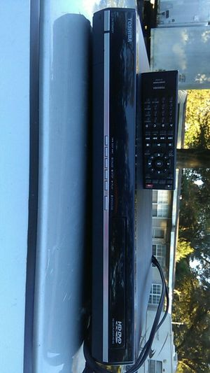 TOSHIBA HD-A3 dvd with Remote for Sale in Milton, FL