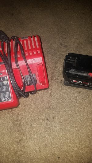1 charger 1battery for 90 at home depot is 169 i have more batteries too so lmk for Sale in Tucson, AZ