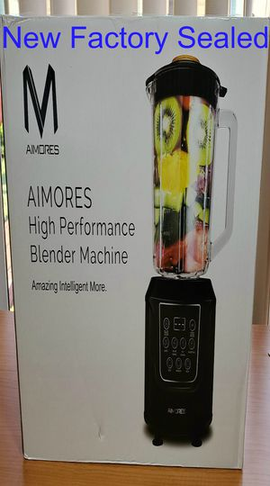 NEW Aimores Pre Programmed LED Display Blender High Perfomance Machine for Smoothies AS-UP1250 Factory Sealed Box for Sale in Willowbrook, IL
