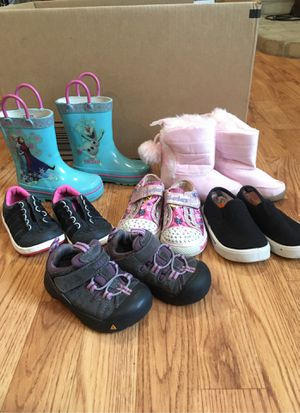 Kids shoe lot Size 5 toddler for Sale in Boonsboro, MD