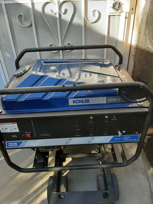 Kohler gen 5.0 generator excellent condition price is firm no lowballers for Sale in Fontana, CA
