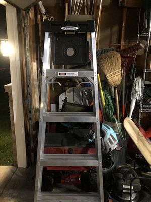 New 6' aluminum ladder for Sale in Maple Grove, MN