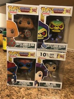Masters of the universe funko pop for Sale in West Valley City, UT
