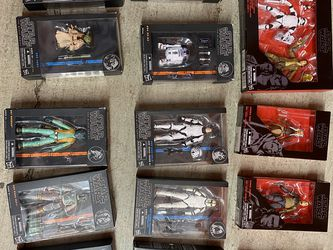 Star Wars Black Series 6 Inch Collection for Sale in Sacramento,  CA