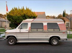 Ford Econoline E-150 high top, tow hitch, campervan for Sale in Encinitas, CA