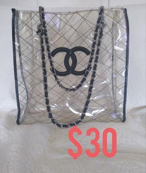 Clear Shopping Tote Beach Bag for Sale in Clovis, CA
